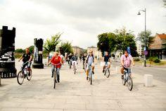 Cruising Krakow, bike tours and bike rentals in and around Krakow, Poland