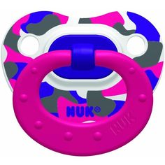 Nuk Pack of 4 Trendline Orthodontic Pacifier Bundle Pack ❤ liked on Polyvore featuring baby, pacifiers and 56. pacifiers & teethers.
