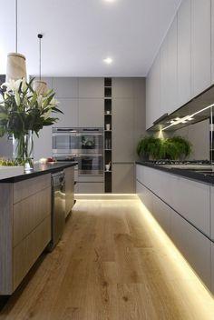 48 AMAZINGLY BRICK WALL DESIGNS IN MODERN KITCHENS #kitchens #kitchendesign #kitchenideas