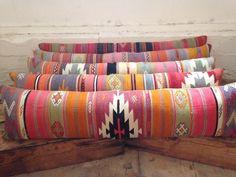 Image of Custom Kilim Bed Cushions