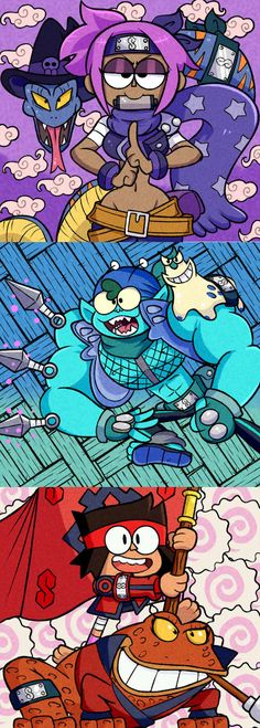 Oretachi Wa Lakewood no Ninja by on DeviantArt Cartoon Crossovers, Cartoon Gifs, Cartoon Shows, Cartoon Art, Filles Equestria, Ok Ko Cartoon Network, Cartoon Network Characters, Character Art, Character Design