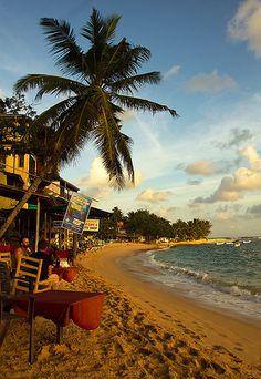 Beach, Unawatuna, Sri Lanka #SriLanka #Unawatuna #Beach