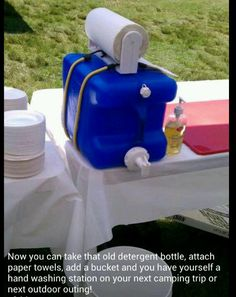 Detergent bottle ideas