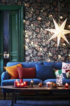 Getting your home ready for the holidays can be as simple as adding twinkling, festive lights! Click to shop decorative IKEA lighting.
