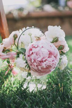 #peony Photography: Edyta Szyszlo Photography - edytaszyszlo.com Read More: http://www.stylemepretty.com/2014/07/11/romantic-destination-wedding-at-stryker-sonoma-winery/