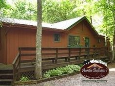 This Private two level Lodge is tucked in the woods and comes with FISHING PRIVLEGES. Great for a #couples #getaway or a #family #vacation. Each bedroom features its own Jacuzzi tub and bath. After a busy day enjoying the local attractions, you can un-wind in the downstairs rec-room complete with a pool table, wood burning fireplace and Movies on the Hi-Def TV complete with Surround Sound. There is a Large fishing pond within walking distance from the lodge. #Gatlinburg #Pigeon #Forge