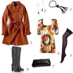 Lição de moda da mini-saia: o trench-coat! - mini-saia