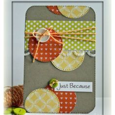 Paper crafting card