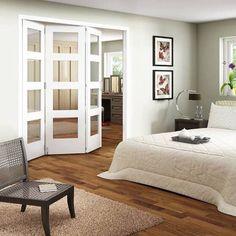 Jeld-Wen White Primed Internal Bi-Fold Doors