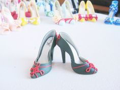 Handmade Miniature Shoes  Polymer Clay by YinyingO on Etsy, $38.00