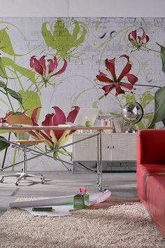 Gloriosa Wall Mural by Make an Impact with Wall Murals on @HauteLook LOVE IT!!!!!!!!!!!!!!
