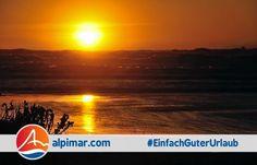 Traumhafter Sonnenuntergang über dem Meer in Frankreich. So macht Urlaub Spaß. Korsika, Provence, Côte d'Azur, Languedoc, Aquitaine, Hund, Mensch, sunset, dawn, sea, France, Corsica, holiday, dog, man, men, person, human, people, sun, beach #EinfachGuterUrlaub