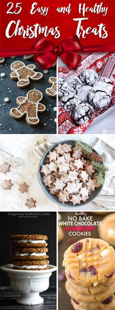 25 Incredible Recipes For Whipping Up Healthy Christmas Cookies