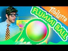 Flummiball selber machen inkl. BONUS CLIP | Kinder DIY | bastelvideo - Tobilottarium 28 - YouTube