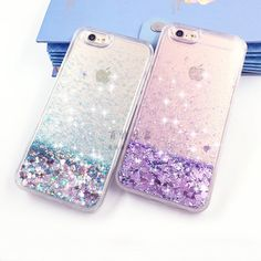 Liquid Glitter Bling Moving Quicksand Case Cover For Iphone 5 6 6S 7 Plus 7+
