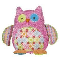 "Amazon.com: Mary Meyer Cheery Cheeks 12"" Hootie Hoots Owl Plush: Toys & Games"