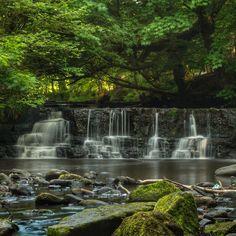 'Calderglen Falls'