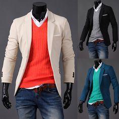 新しいファッション秋2013スタイリッシュスリムフィットメンズスーツ、 メンズブレザー、 ビジネススーツ、 フォーマルスーツジャケットのコート、 送料無料、 r1129