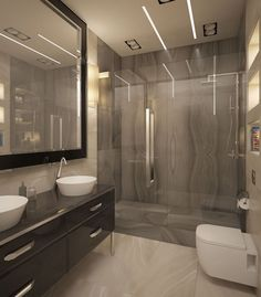Today, we show you this #project made with our #Absolute series by #YasavievaLuciaDecorAndDesignStudio from Kazan, Russia. They used our #DecoSymmetry in the shower background and it looks amazing.