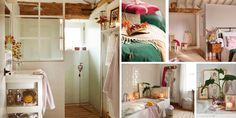 Fotomontaje baños y dormitorio