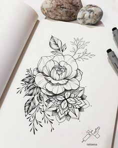 Flowers tattoo art tatuajes de rosas, tatuajes pierna и dibujos para tatuar Kunst Tattoos, Tattoo Drawings, Body Art Tattoos, Sleeve Tattoos, Tatoos, Female Tattoos, Sketch Tattoo, Arm Tattoos, Tattoo Art