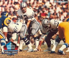 February 5, 1942 - Roger Staubach, Pro Football Hall of Fame Class of 1985, was born in Cincinnati, Ohio. Click for complete HOF bio.