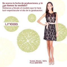 ¿Ya tienes tu vestido? #Lineas #outfit #moda #tendencias #2014 #ropa #prendas #estilo #primavera #vestido