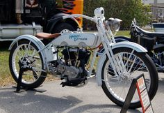1917 Harley Davidson Antique Motorcycle