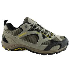 Merrell-Nova-Ventilator-Mens-Walking-Shoes-Aluminium-Empire-Yellow