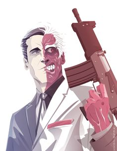 Harvey Dent (Two-Face).