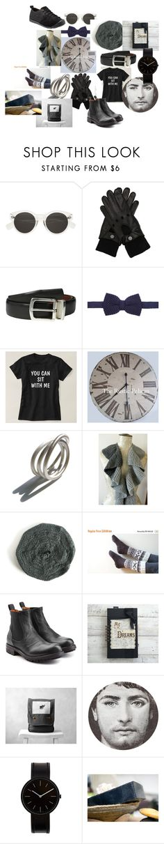 """""""FOR YOU"""" by talma-vardi on Polyvore featuring Ettore Bugatti, Will Leather Goods, Diverso, Fiorentini + Baker, Fornasetti, Uniform Wares, Keen Footwear, men's fashion and menswear"""