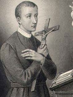 Saint Gerard Majella ~ My Confirmation saint.  St. Gerard's Feast Day is October 16th ~ St. Gerard is the patron saint of expectant mothers.