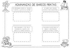 Mi grimorio escolar: ADIVINANZAS DE BARCOS PIRATAS