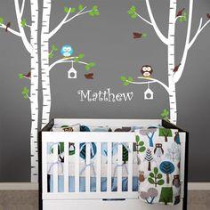 Birch-Tree-with-Custom-Name-Wall-Decal