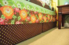 Velcro Bed Skirt Tutorial