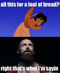 aladdin & les miserables mashup