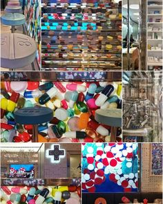 This is the decor at @pharmacy2. Overwhelming amounts to look at!