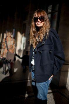 Caroline De Maigret Fashion Week 2016, Milan Fashion Weeks, Paris Fashion, Autumn Fashion, Fashion Spring, Charlotte Rampling, Twiggy, Alexa Chung, Style Parisienne