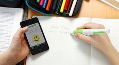 A caneta que ensina a escrever #inovação