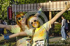 Come give us a hug! at Color Run Bucharest 2014