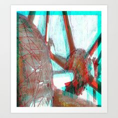 Atomium Art Print by ganech - $14.56