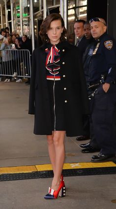 From the first time we saw her, we knew that Millie Bobby Brown was going to take over the fashion world. Since her big breakout role on Stranger Things, the Millie Bobby Brown, Petsch, Bobby Brown Stranger Things, Gucci Sylvie, Top Street Style, Brown Fashion, Winter Fashion, Kids Fashion, Who What Wear