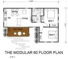 201 modulaire 2 Chambres Option - this firm offers more floor plans