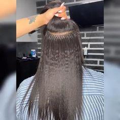 Wholesale Grade Brazilian virgin microlink I tips hair extensions SKU: 14 Inch Hair Extensions, Hair Extensions For Short Hair, Hot Hair Styles, Curly Hair Styles, Natural Hair Styles, Cabelo Com Mega Hair, Twist Braid Hairstyles, Hair Affair, Hair Videos