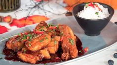 Glynn Purnell's sweet and spicy sticky ribs