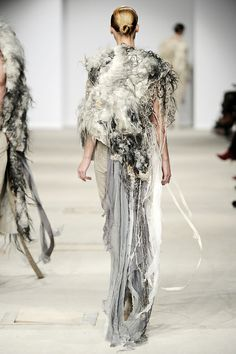 felt and fashion.  Vilte felt and Josephus Thimister, AW 11