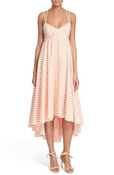 Milly Strappy Stripe Maxi Dress available at #Nordstrom