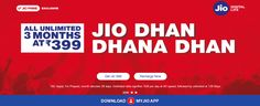 Reliance Jio Rs399 plan