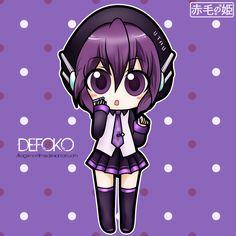 UTAU - Defoko by Akage-no-Hime.deviantart.com on @deviantART