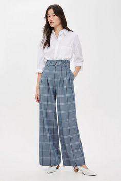 9db2f22786ee Pantalon large avec ceinture Pantalon À Jambes Larges, Pantalon Pantalon,  Jambes Larges, La